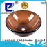 Easehome lotus shaped large glass vessel customization bathroom