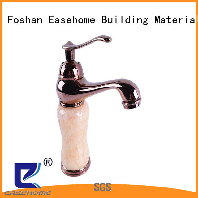 Easehome contemporary pull out kitchen faucet zinc handle bathroom
