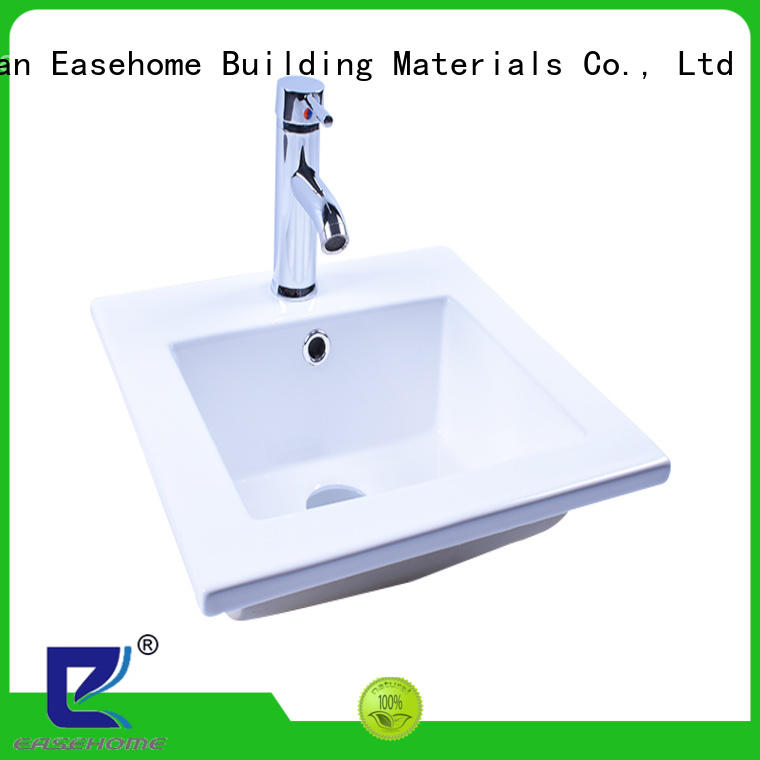 Easehome round bowl ceramic basin good price home-use