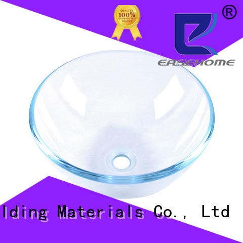 Easehome bronze color glass bowl sink best price washroom