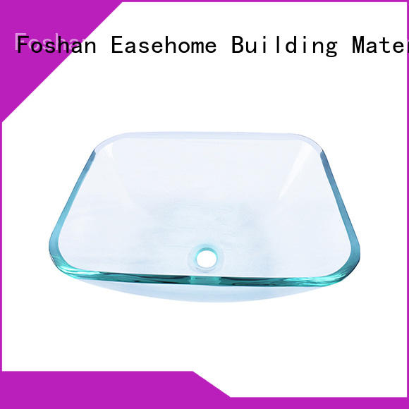 bowl round glass bowl sink customization bathroom Easehome