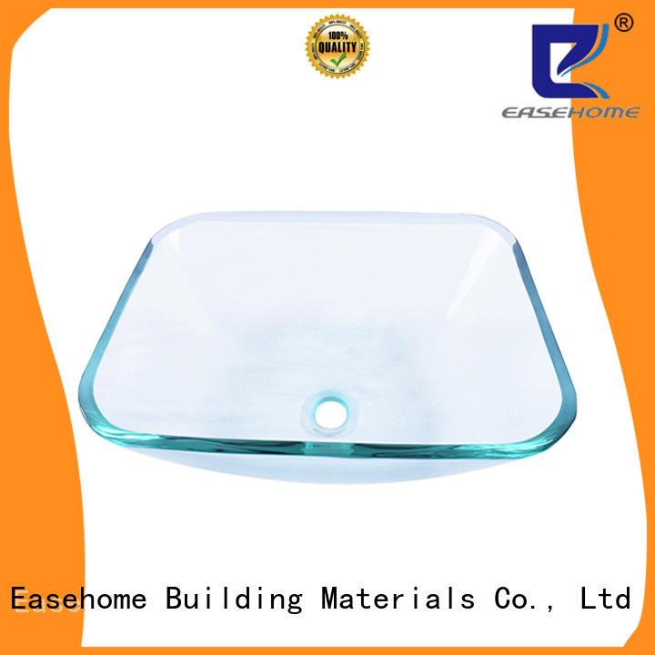 Easehome bowl round glass bowl sink best price bathroom