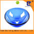 Easehome colorful blue glass vessel sink customization bathroom