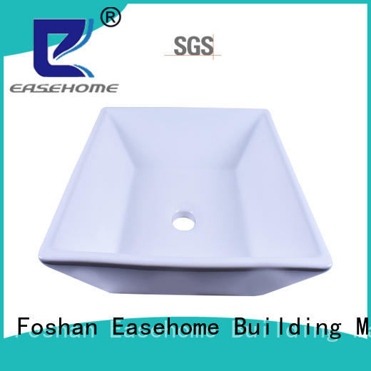 modern round porcelain sink double bowl wholesale home-use