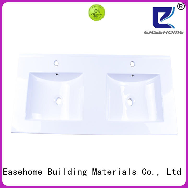 glazed porcelain double sink good price hotel Easehome