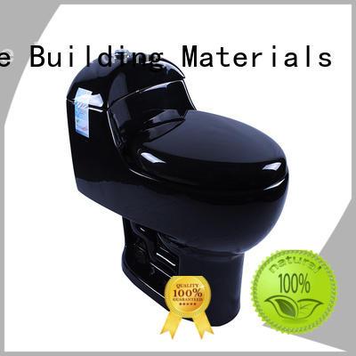 S-trap black toilet convenient bathroom