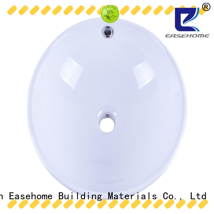 Easehome pure white wall hung sink wholesale home-use