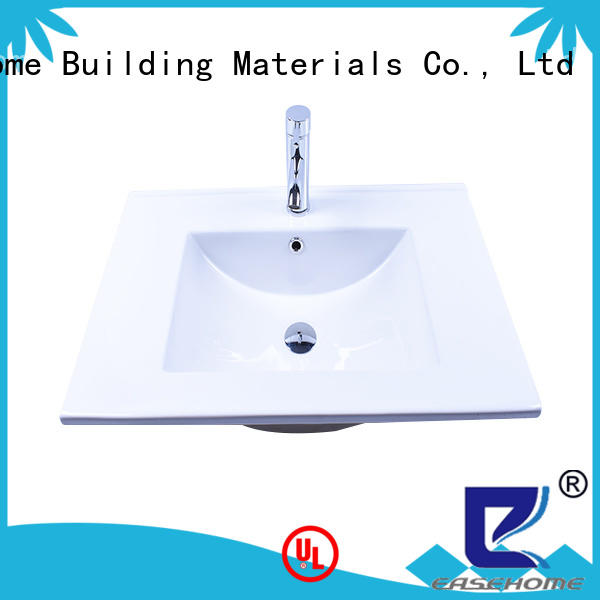 Easehome round bowl wall hung sink wholesale restaurant