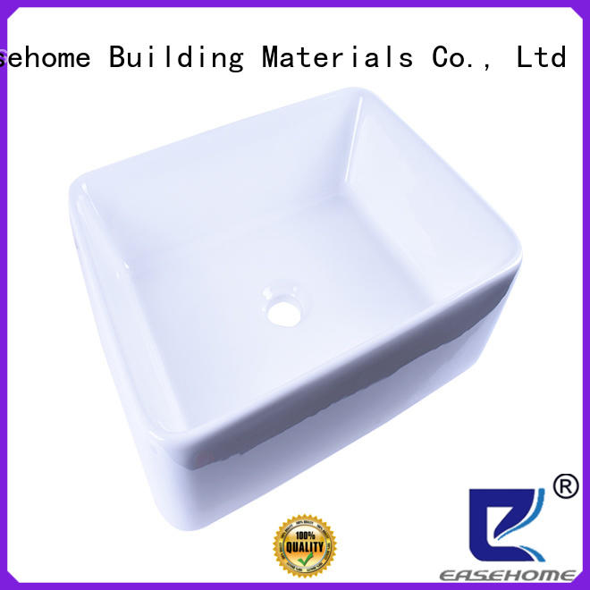 Easehome pure white how to clean porcelain sink awarded supplier hotel