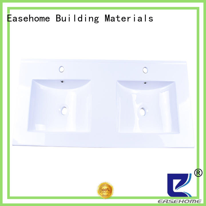 Easehome round bowl ceramic wash basin awarded supplier hotel