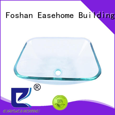 Easehome colorful glass vessel best price bathroom