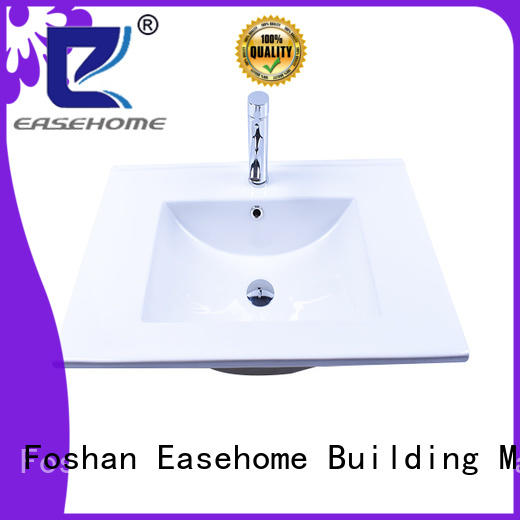 Easehome pure white porcelain basin wholesale home-use