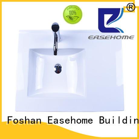 Easehome modern porcelain basin sink awarded supplier hotel