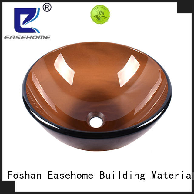 Easehome chromed glass vessel bathroom sinks best price bathroom