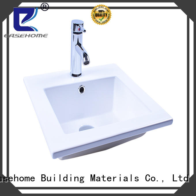 Easehome glazed ceramic washbasin awarded supplier home-use
