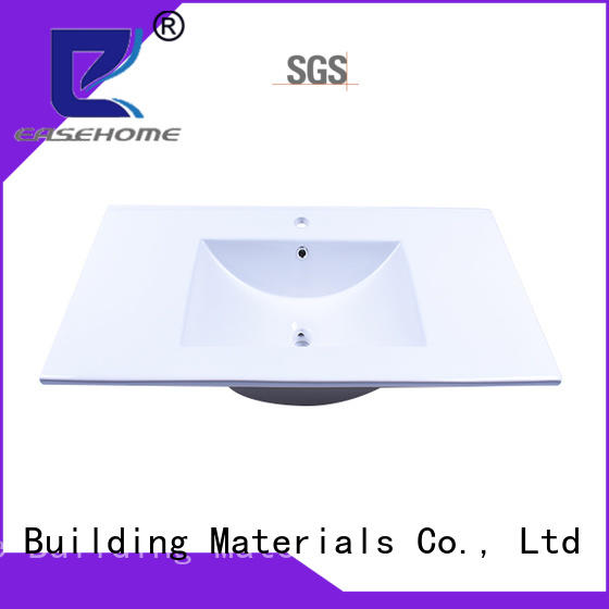 Easehome chrome porcelain sink wholesale hotel
