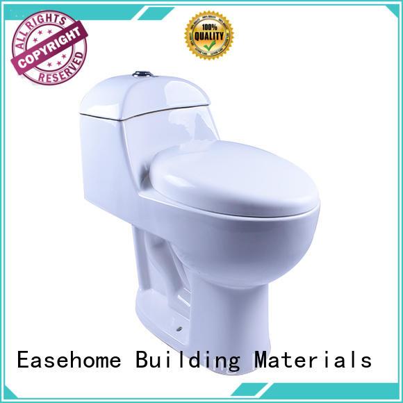 Easehome comfortable black porcelain toilet fitting bathroom