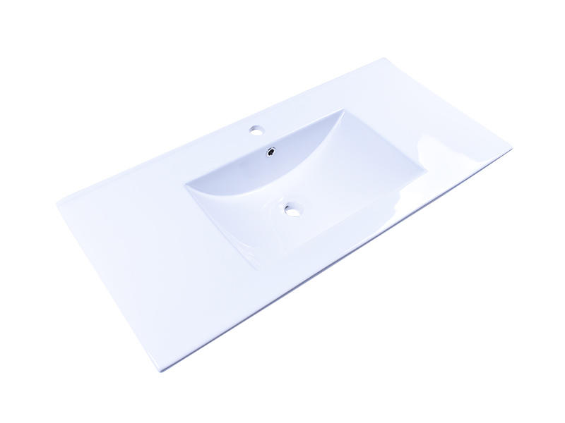 modern porcelain basin sink pure white wholesale restaurant-2