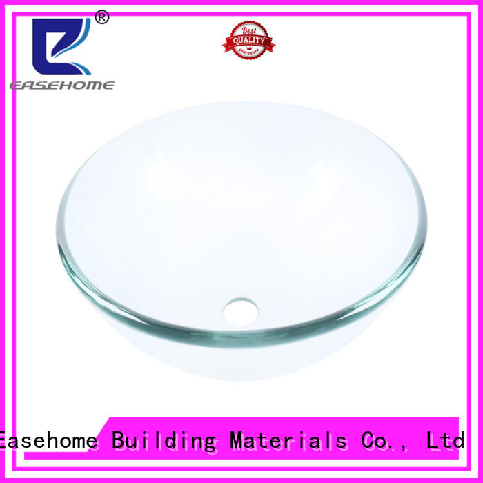 Easehome lotus shaped glass basin trendy design apartments