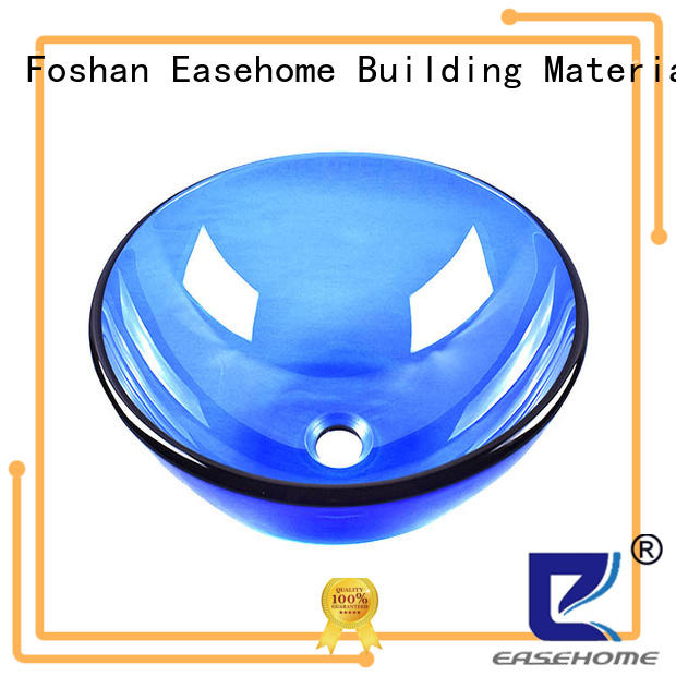 Easehome bowl round glass basin best price bathroom