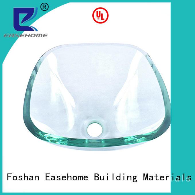 semitransparent glass bathroom basins best price washroom Easehome