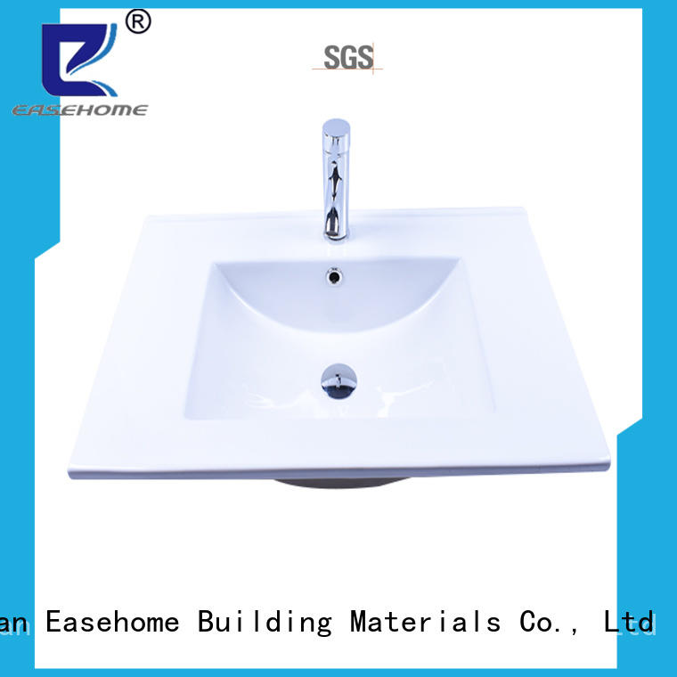 Easehome oem large porcelain sink good price home-use