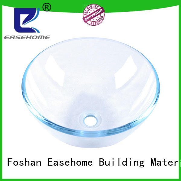 Easehome colorful glass wash basin best price apartments