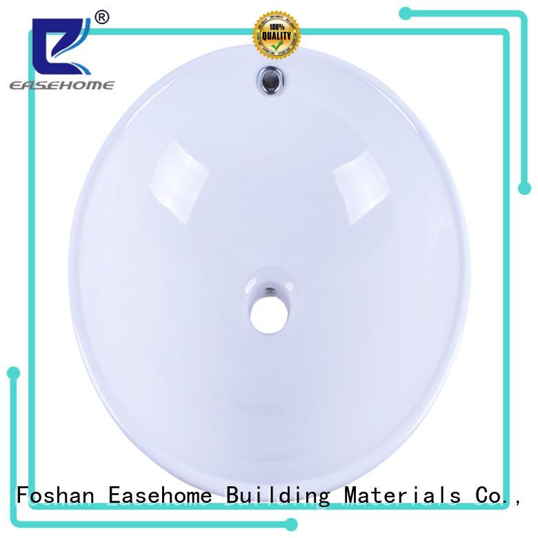 Easehome glazed porcelain bathroom sink wholesale restaurant