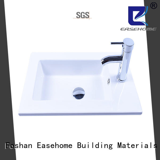 Easehome oem how to clean white porcelain sink good price restaurant