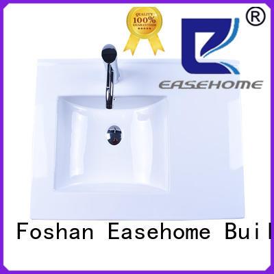 chrome porcelain sink good price hotel Easehome