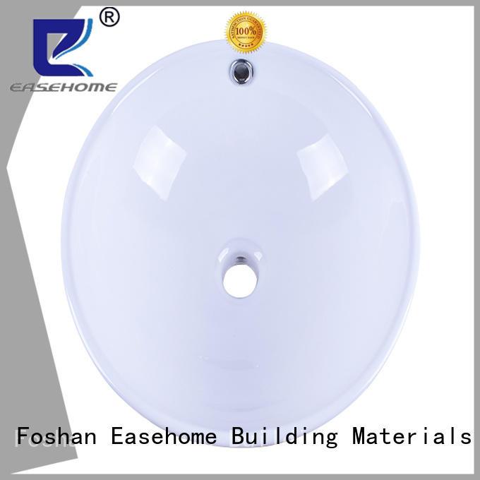 Easehome glazed white porcelain basin good price restaurant