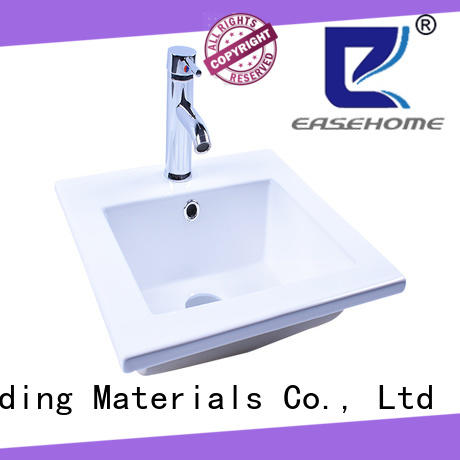 Easehome pure white wall hung sink bulk purchase home-use