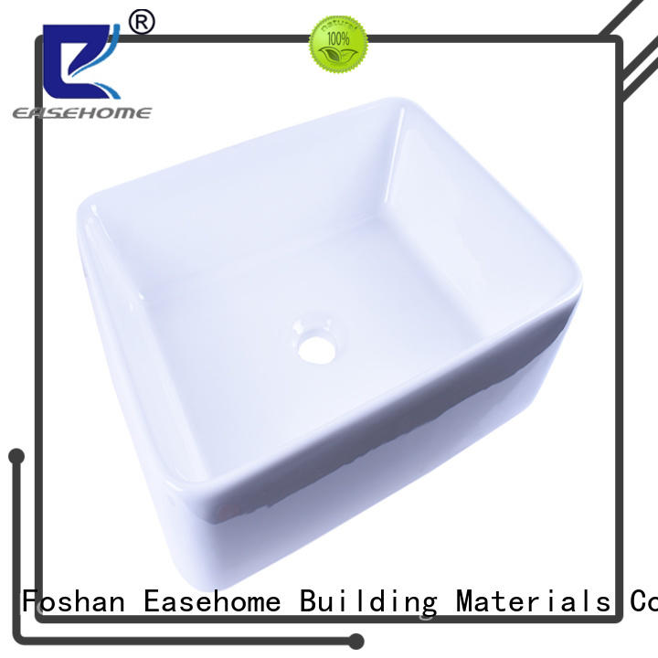 modern clean white porcelain sink bulk purchase home-use Easehome