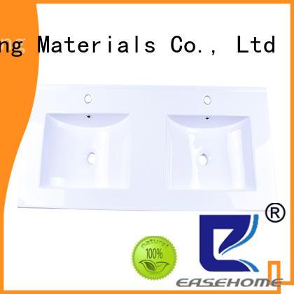 oem ceramic wash basin double bowl wholesale restaurant