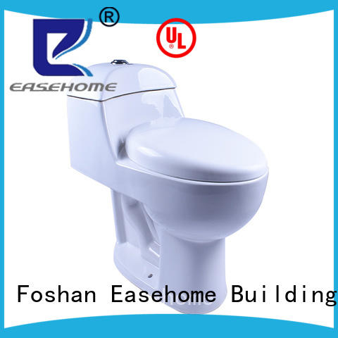 soft one piece toilet dual flush bathroom Easehome