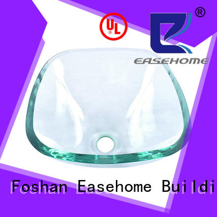 Easehome crystal glass bowl sink best price apartments