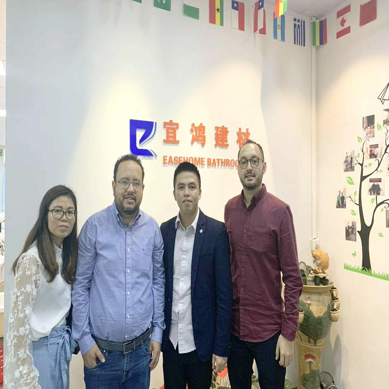 Bolivia Clients Visited Foshan Easehome Building Materials Co.,Ltd