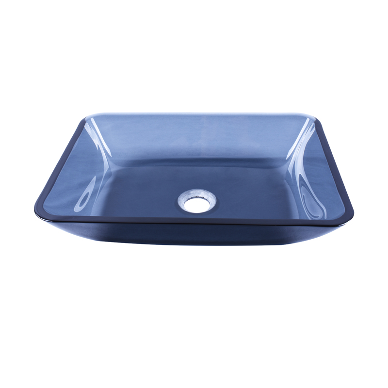 Easehome colorful glass wash basin customization apartments-1
