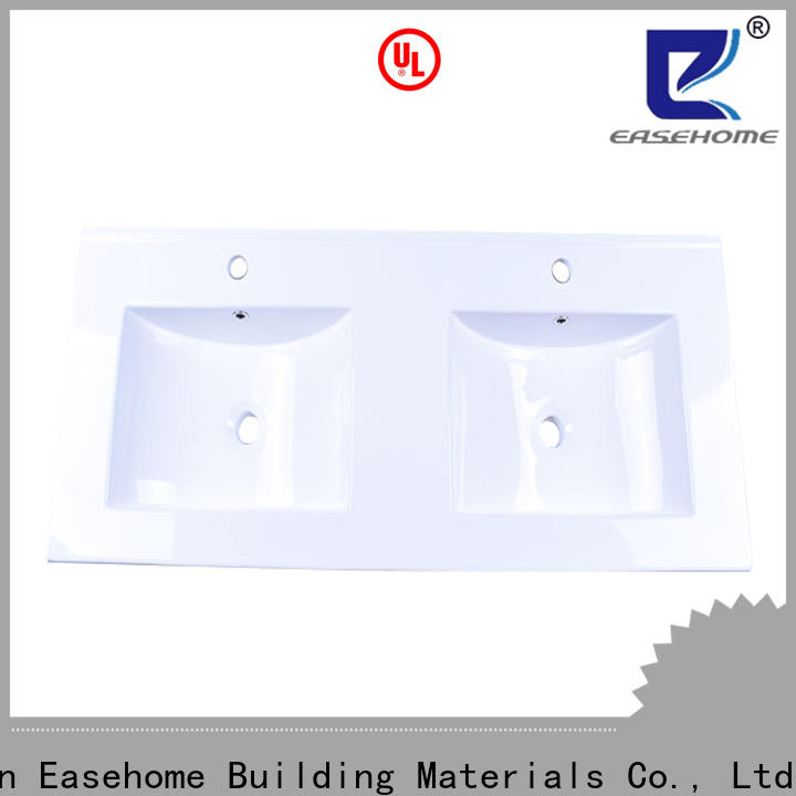 Easehome durable oval porcelain sink good price hotel