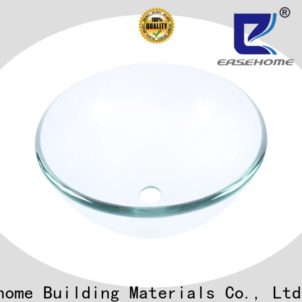 lotus shaped wall mount glass sink square shape best price bathroom