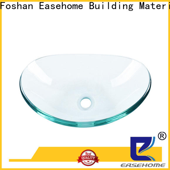 Easehome chromed glass vessel bathroom sinks best price apartments