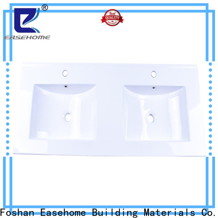 Easehome modern white porcelain sink wholesale hotel