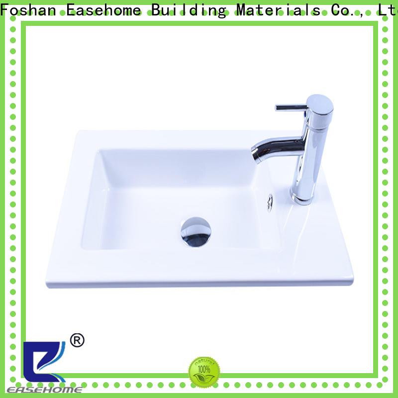 Easehome round bowl porcelain wash basin bulk purchase restaurant