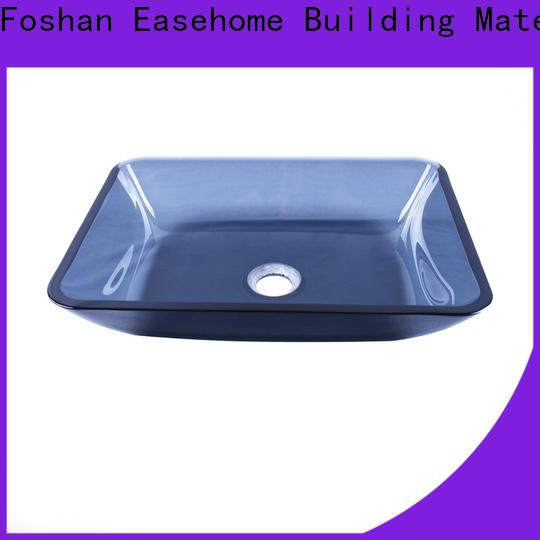 Easehome chromed glass bowl sink customization apartments