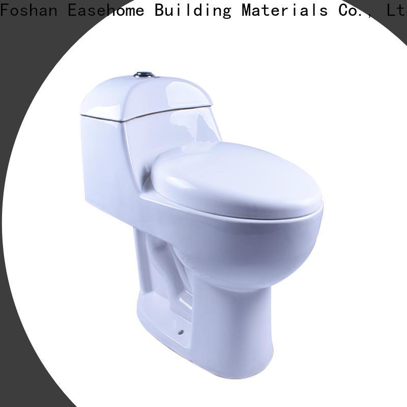 Easehome high quality black toilet fast shipping bathroom