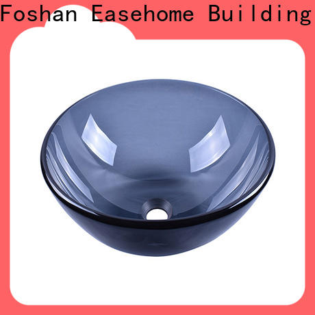 colorful red glass vessel sink brown best price washroom