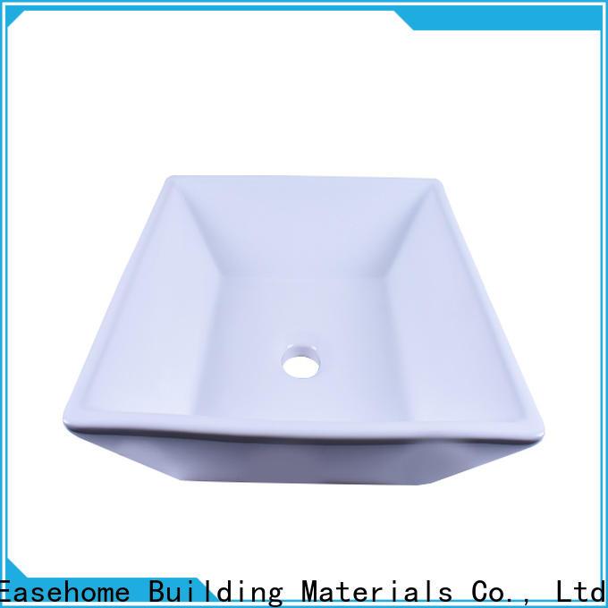 oem ceramic art basin chrome wholesale restaurant