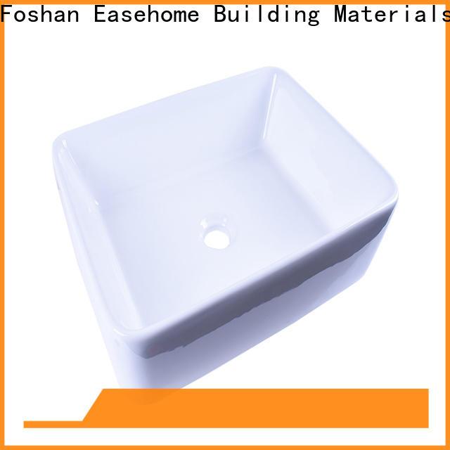 Easehome oem oval porcelain sink wholesale restaurant