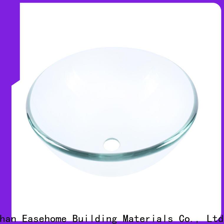 Easehome crystal glass vessel best price bathroom
