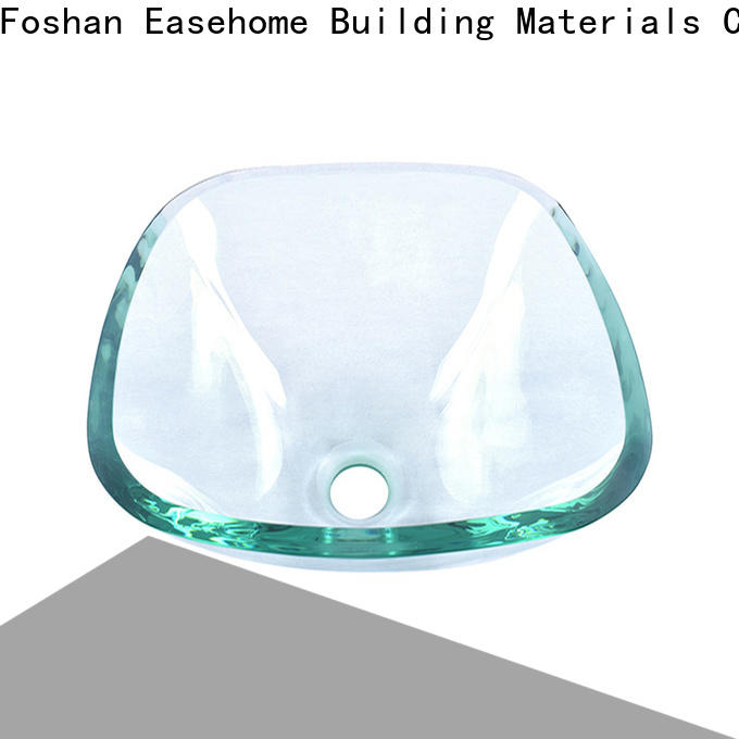 crystal brown glass vessel sink transparent best price apartments